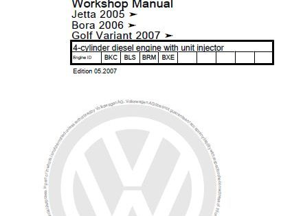 New Post Pdf Online Vw 4 Cylinder Diesel Engine With Unit Injector Workshop Manual Has Been Published On Procarmanuals Com Diesel Engine The Unit Cylinder