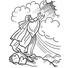 Moses Coloring Pages Free Printables Bible Coloring Pages