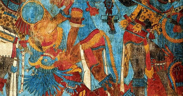 Cacaxtla mexico the best preserved mesoamerican murals for Definicion de pintura mural