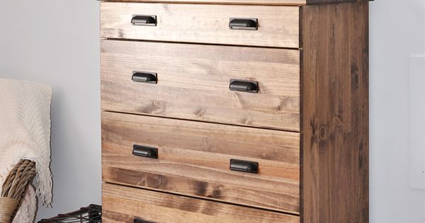 how to stain an ikea tarva dresser gebeizt industriell und getr nke. Black Bedroom Furniture Sets. Home Design Ideas
