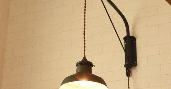 Canffy ウォールランプ ペンダントライト 壁掛け 1灯 Gien Bracket