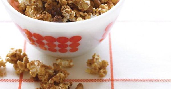 Crunchy Caramel Corn, Recipe from Everyday Food, October 2007