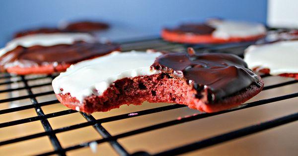 Black and white cookies, Red velvet and Velvet on Pinterest