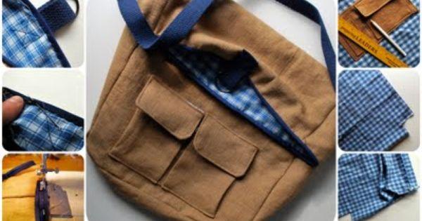 DIY bag tutorial paso a paso bolso