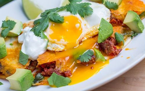 ... Quesadilla Topped with a Fried Egg | Recipe | Chorizo, Quesadillas and