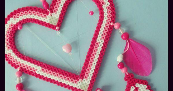 collection attrape r ves grand mod le r ves love hama perles et mod le. Black Bedroom Furniture Sets. Home Design Ideas
