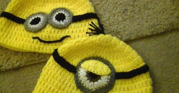 Minion hats!!! My future children are going to wear some awesome things..
