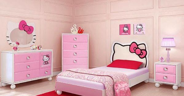 Cabeceras de cama de hello kitty dormitorios para ni as for Dormitorios para ninas quito