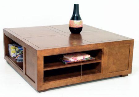 Lotusea Table Basse Ranong Hevea Massif Table Basse Bois Massif Mobilier De Salon Table Basse Bois