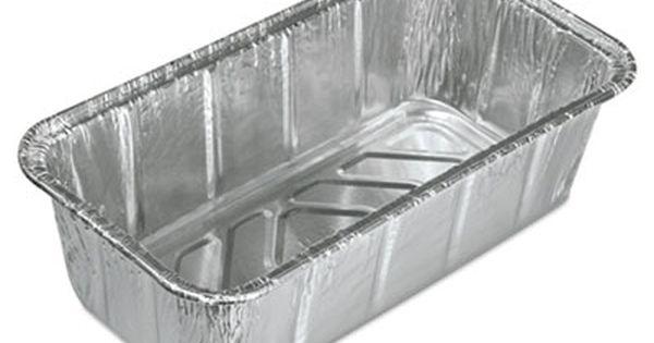 Durable Packaging Aluminum Loaf Pans 2 Lb 500 Carton 510035 Officecrave Com Aluminum Baking Pans Baking Pans Pans
