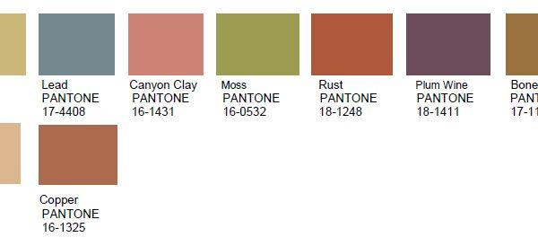 pantone color institute has unveiled its annual trend