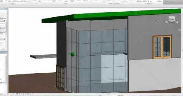 Autodesk Revit Tutorials 11 Attaching Walls To The Roof Autodesk Revit Revit Tutorial Revit Architecture