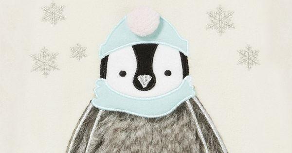 Clothing At Tesco F Amp F Faux Fur Detail Penguin Fleece