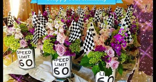 60th Birthday Party Centerpiece Ideas Http