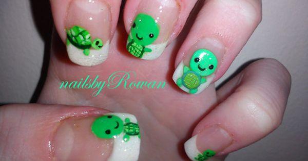 Turtle Nail Designs