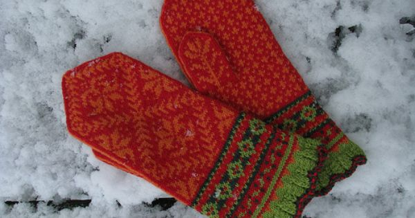 ... | Tricot gants gloves | Pinterest | Ravelry, Projects and Mittens