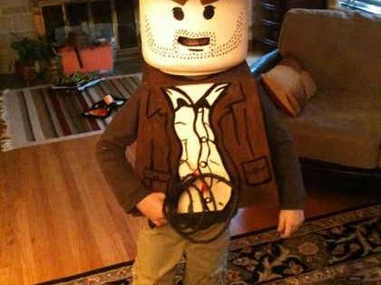Lego Halloween costume ideas... Lego Indiana Jones Costume