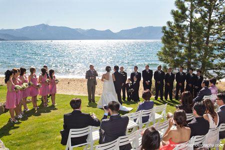South Lake Tahoe Weddings Edgewood Tahoe Lake Tahoe Weddings Wedding Beach Ceremony South Lake Tahoe Weddings