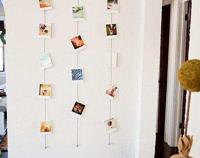 Un collage de fotos para las paredes de casa decorar tu - Decorar paredes facil ...