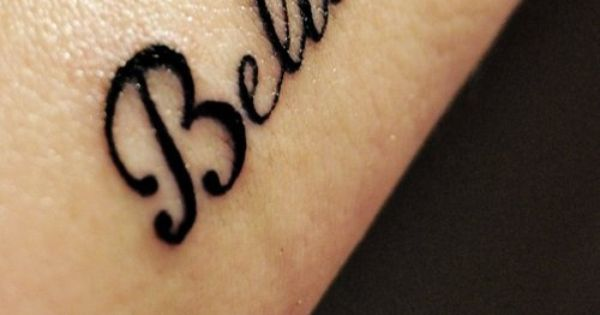 words tattoo: Believe...I want to add stars to my believe tattoo
