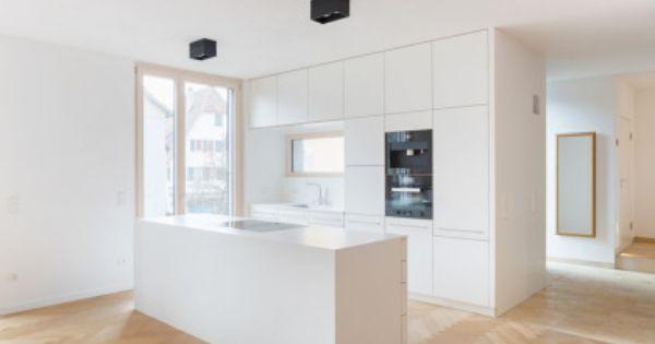 Deckenhohe kuchenschranke weiss ohne griffe kuche for Griffe küche
