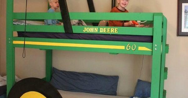 John Deere Bunk Bed Diy : Creative diy bunk bed ideas super i m thinking