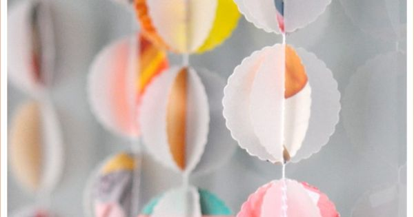 One Good Thing: Bauble Spring Garland - Home - Creature Comforts -