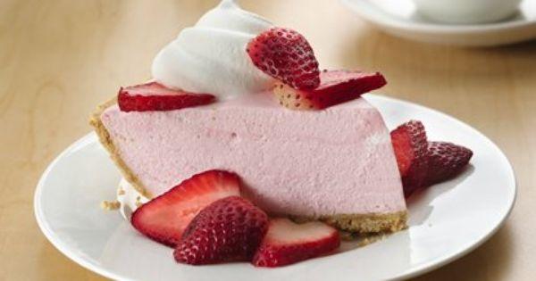 Pay Cremoso De Fresa Sin Hornear Recipe Desserts Baked