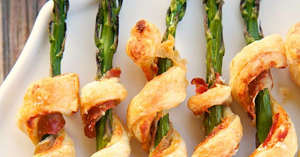 Prosciutto wrapped asparagus, Prosciutto and Asparagus on Pinterest