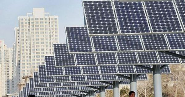 China Is Leading The Global Race For Creating Green Jobs In Fields From Solar Panels To Advanced Lighting Klimawechsel Think