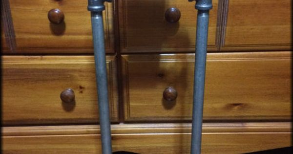 Industrial Furniture Steampunk Iron Pipe Toilet Paper Stand 49 And Ready To Ship Now Etsy