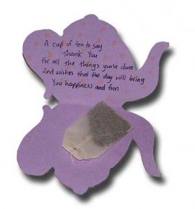 Paper Crafts For Children Mothers Day Tea Bag Card Mother S Day Projects Mothers Day Poems Mothers Day Cards