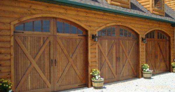 I Just Love Garage Doors That Look Like Barn Doors