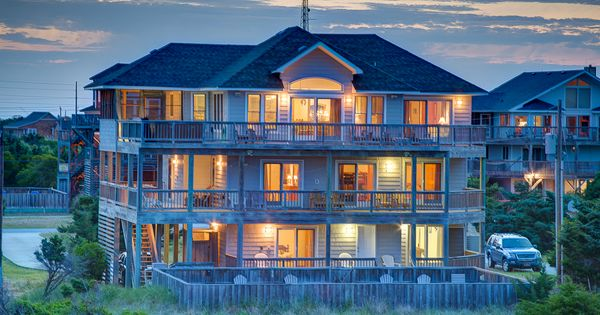 Island Bliss 552 6 Bedroom Oceanfront House Obrrentals Outerbeaches Outer Banks Vacation