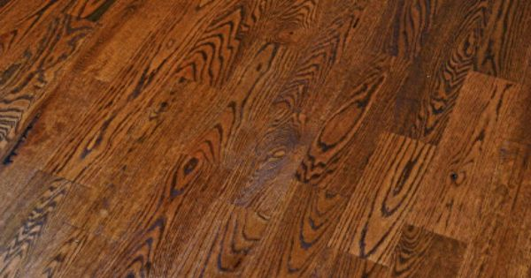 Grade 2 rustic red oak with custom floor color by mixing for Rustic red oak flooring