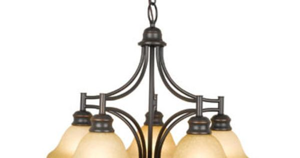 Patriot Lighting Bristol 5 Light Chandelier At Menards Kitchen Pinterest Oil Rubbed Bronze