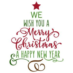 Silhouette Design Store View Design 159943 We Wish You A Merry Christmas Tree Merry Christmas Quotes Wishing You A Christmas Words Merry Christmas Quotes