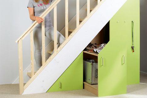 stauraum unter der treppe schrankideen pinterest unter der treppe stauraum unter der. Black Bedroom Furniture Sets. Home Design Ideas