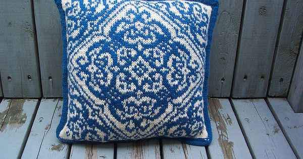 Delft pillow front by kathy_kitchener_quilter, via Flickr pillow Pinterest Photos, Delft ...