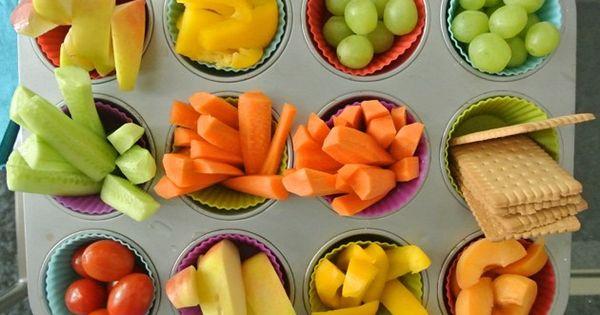 Rohkost und obst der perfekte snack f r kinder besonders - Obst und gemuseplatte fur kindergarten ...