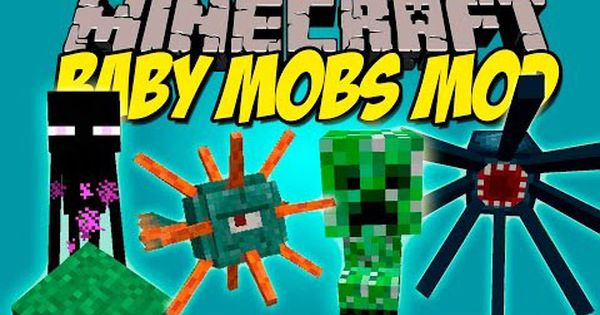 Baby Mobs Mod 1 12 2 1 11 2 Have Baby Mobs As Pets