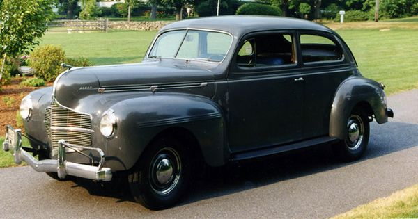 Naturally we love jim from valley collector car club 39 s for 1940 dodge 2 door sedan