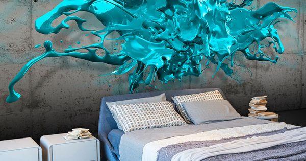 Vlies tapete top fototapete wandbilder xxl 350x245 for Tapete orientalisch blau