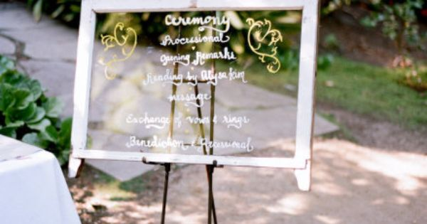 Rustic Window Panes - For Menus, For Programs, For Seating Charts -