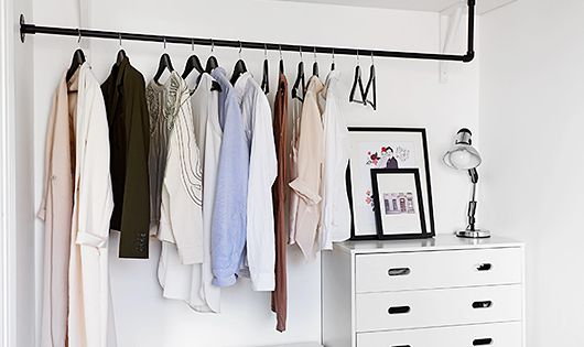 9 ways to store clothes without a closet small dresser How to store clothes without a dresser