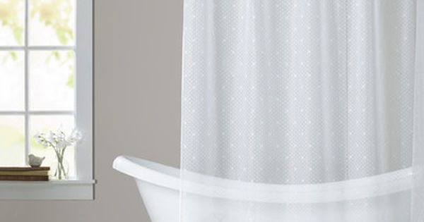 Astoria Grand Victor Shower Curtain Color White Lace Shower