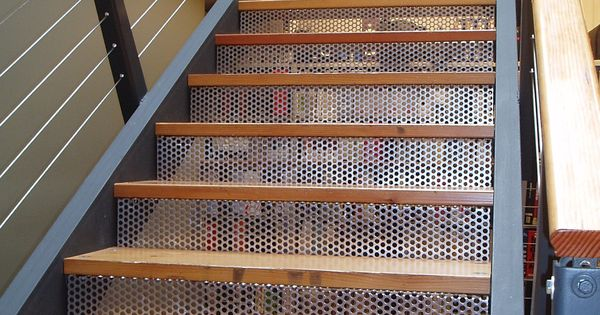 Mcnichols 174 Perforated Metal Forms Risers Of A Staircase For Additional Home Decor Ideas Please