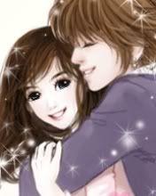 Pretty Korean Cartoons Anime Love Couple Love Cartoon Couple Cute Girl Wallpaper