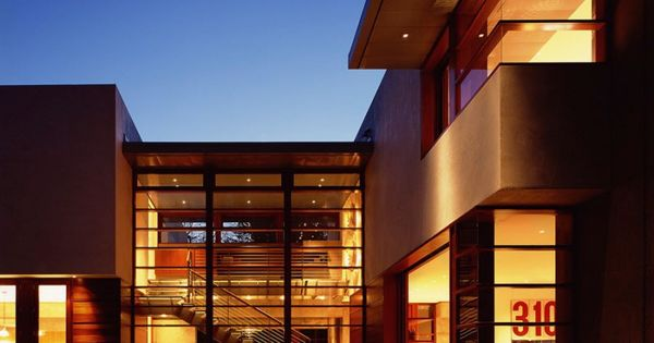 Waldfogel residence by ehrlich architects decoraciones - Limposante residence contemporaine de ehrlich architects ...