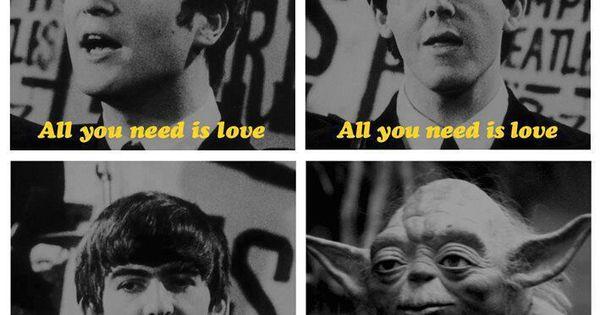 The secret Beatle in a galaxy far, far away.